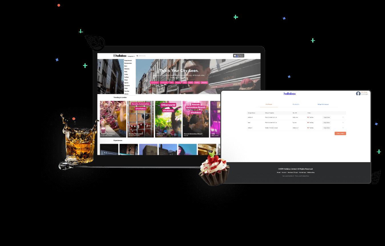 Hollabox Webpage